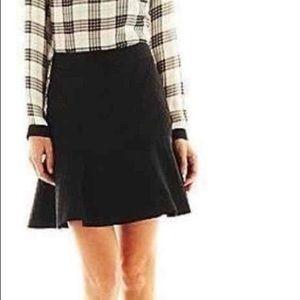 NWT Worthington Flounce Circle Jacquard Skirt